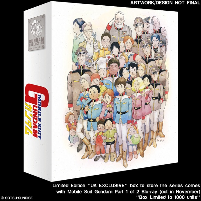 Mobile Suit Gundam - Complete Series Blu-ray (with Limited Ed. Collector's Box)