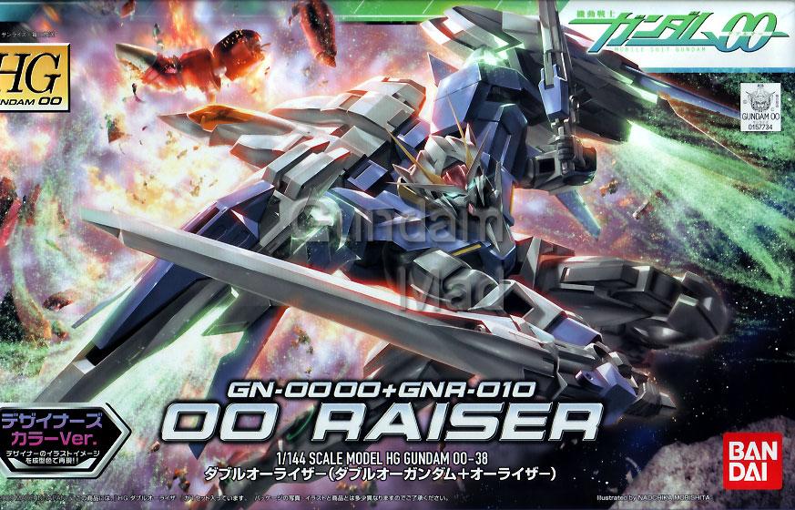 1/144 HG GN-0000+GNR-010 - 00 Raiser