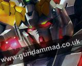 1/100 MG RX-0 Unicorn Gundam HD + MS Cage