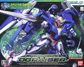 1/100 OO Gundam & O Raiser SP set