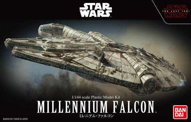 1/144 Millennium Falcon (The Last Jedi Ver.)