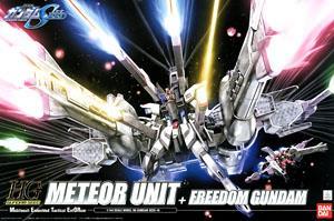 1/144th scale SEED: Meteor Unit + Freedom Gundam