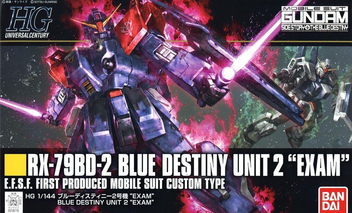 1/144 HGUC Blue Destiny Unit 2 EXAM