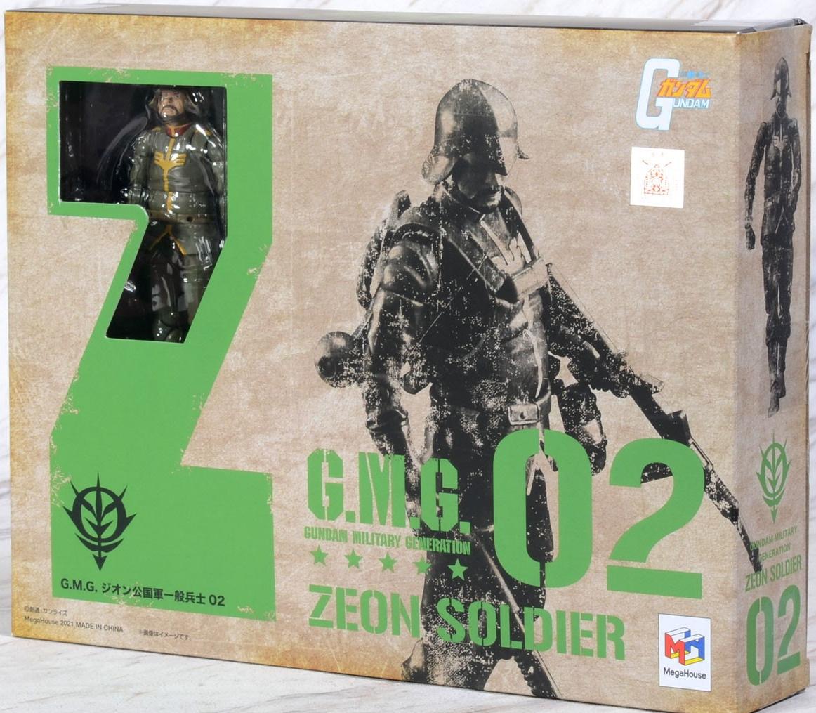 G.M.G. Mobile Suit Gundam: Zeon Soldier 02