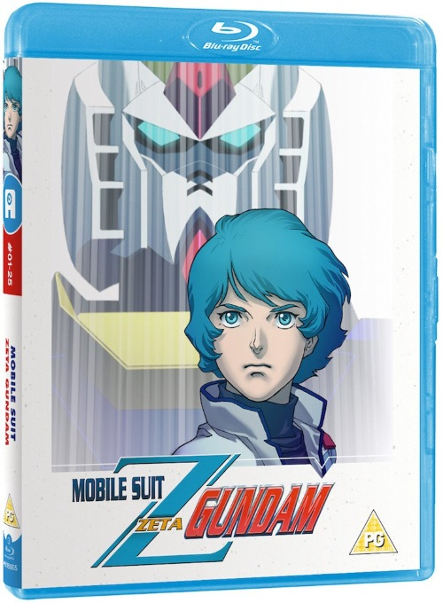 Mobile Suit Zeta Gundam - Part 1 of 2 Blu-ray (with Limited Ed. Collector's Box)