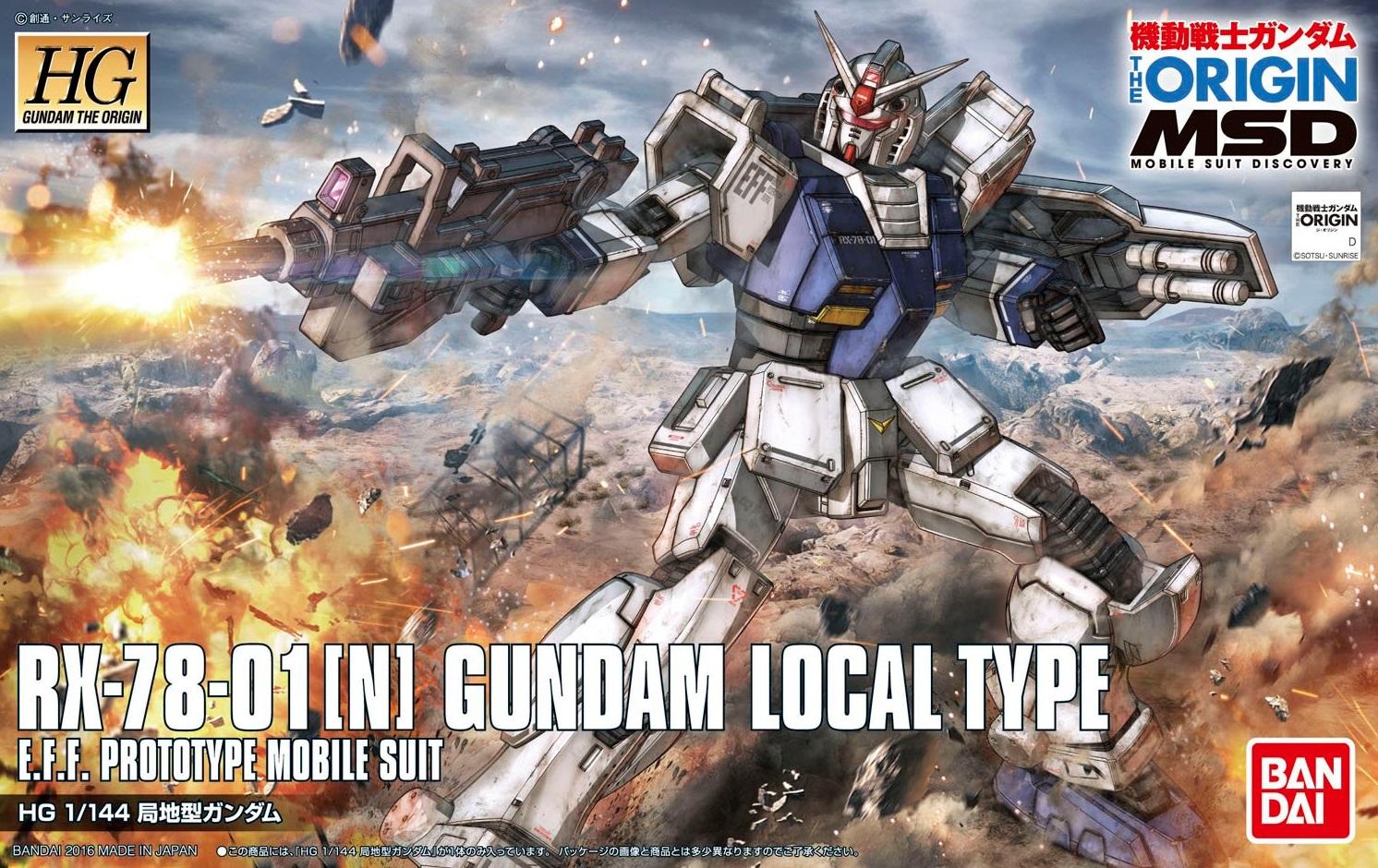 1/144 HG Gundam The Origin Local Type