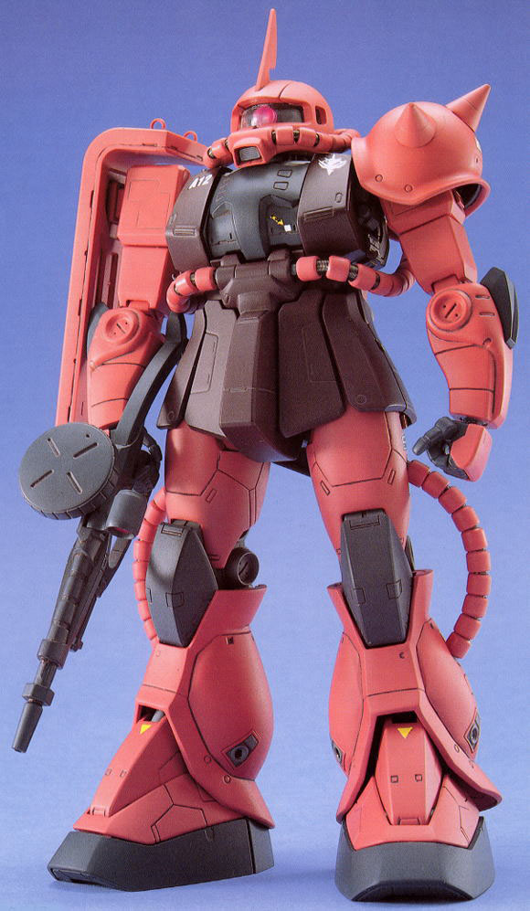 1/100 MG MS-06S Char`s Zaku II