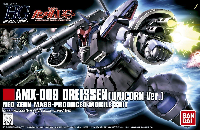 1/144 HGUC AMX-009 Dreissen (Unicorn Ver.)