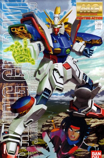 1/100 MG Shining Gundam
