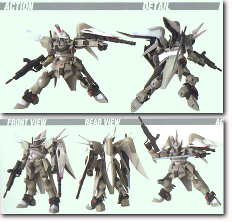 1/144th scale SEED: Cgue
