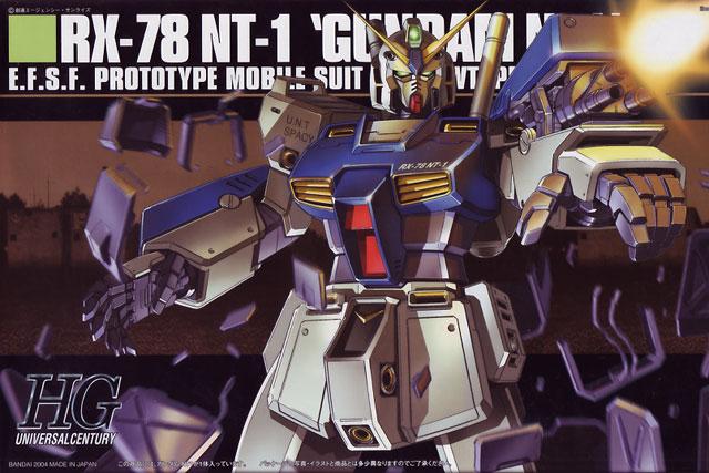 1/144 HGUC RX-78 Gundam NT-1