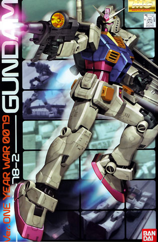 1/100 MG RX-78-2 Gundam `One Year War` version