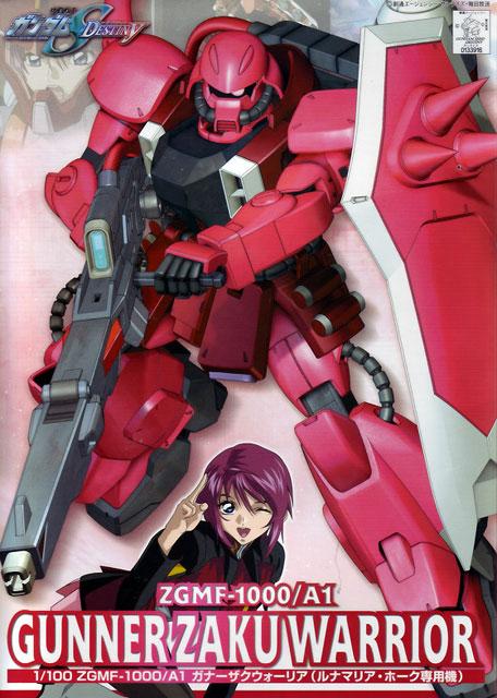 1/100 ZGMF-1000/A1 Gunner Zaku Warrior