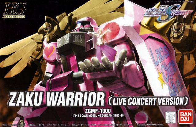 1/144 HG Zaku Warrior Live Concert Version