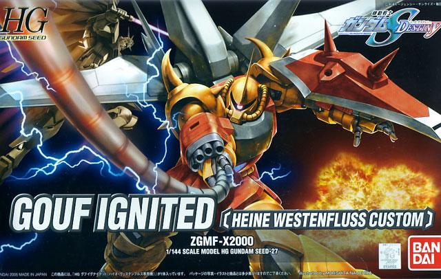 1/144 HG Gouf Ignited (Heine Westenfluss Custom)