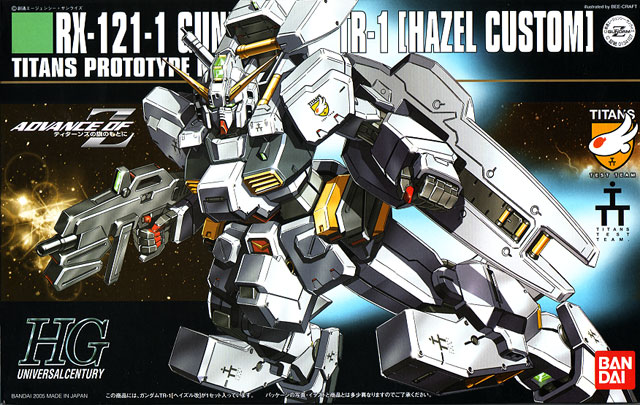 1.144 HG RX-121 Gundam TR-1 (Hazel Custom)