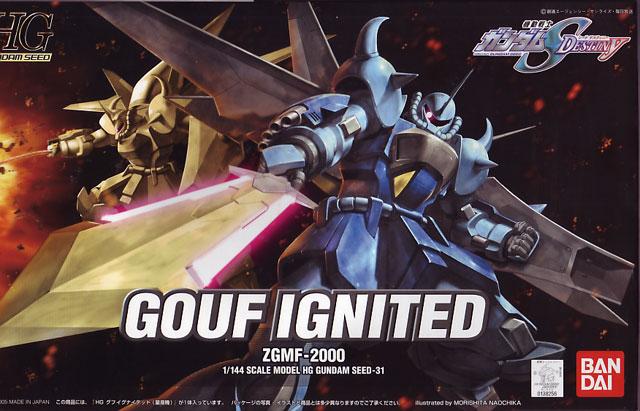 1/144 HG Gouf Ignited ZGMF-2000