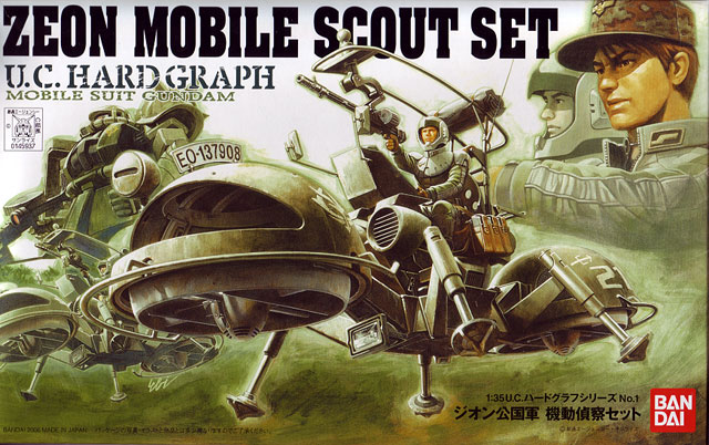 1/35th Zeon Mobile Scout Set