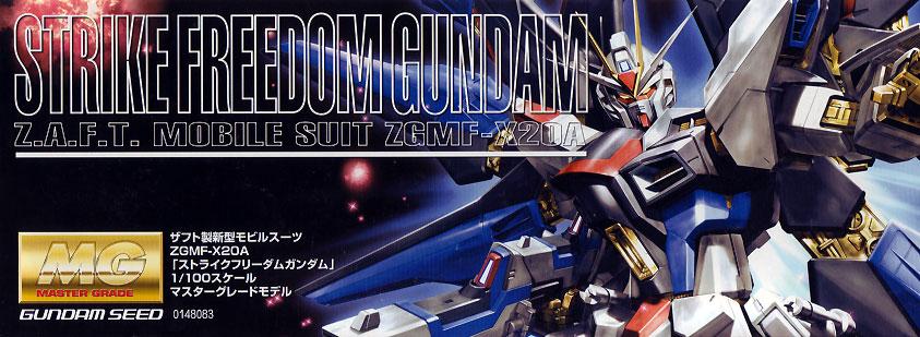 1/100 MG Strike Freedom Gundam