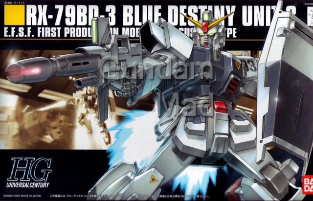 1/144 HG RX-79BD-3 Blue Destiny Unit 3