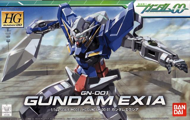 1/144 HG GN-001 Gundam Exia