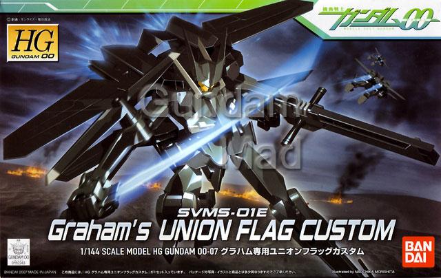 1/144 HG Graham`s Union Flag Custom