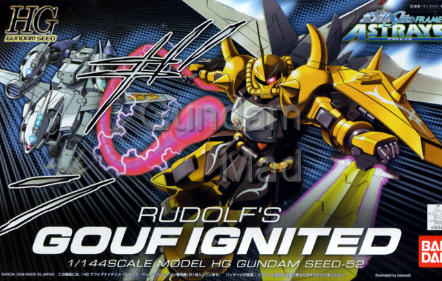1/144 HG Rudolf`s Gouf Ignited