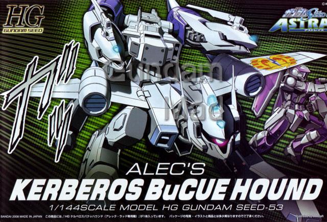 1/144 HG Alec`s Kerberos BuCue Hound