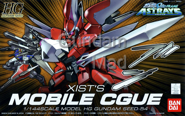 1/144 HG Xist`s Mobile CGue