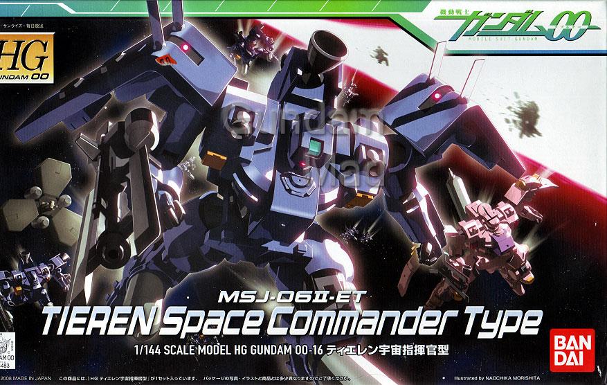 1/144 HG MSJ-06II-ET Tieren Space Commander Type