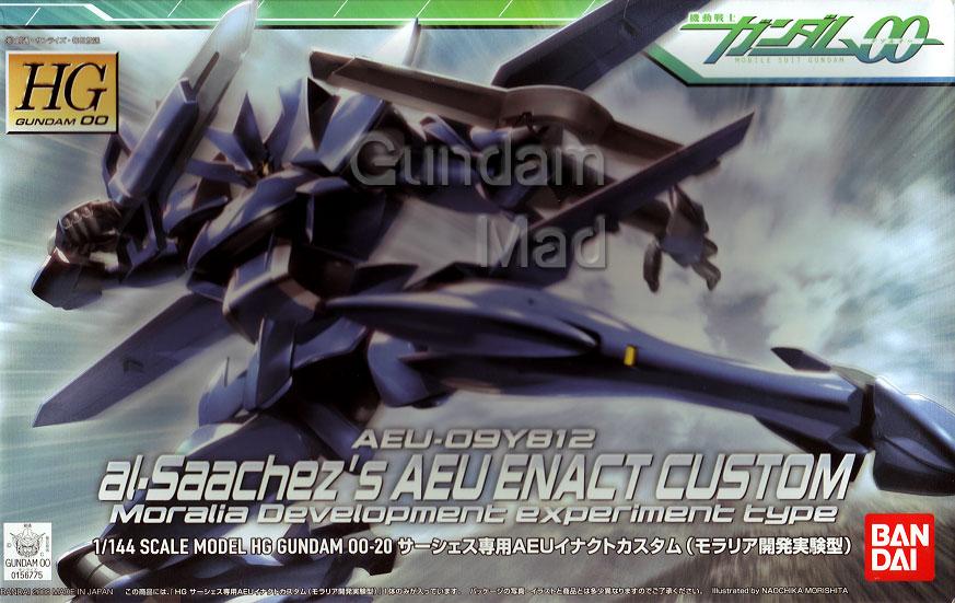 1/144 HG Al-Saachez`s AEU Enact Custom