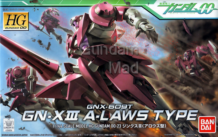 1/144 HG GN-X III A-Laws Type