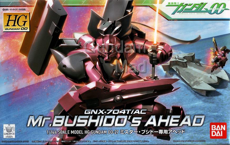 1/144 HG Mr. Bushido`s Ahead