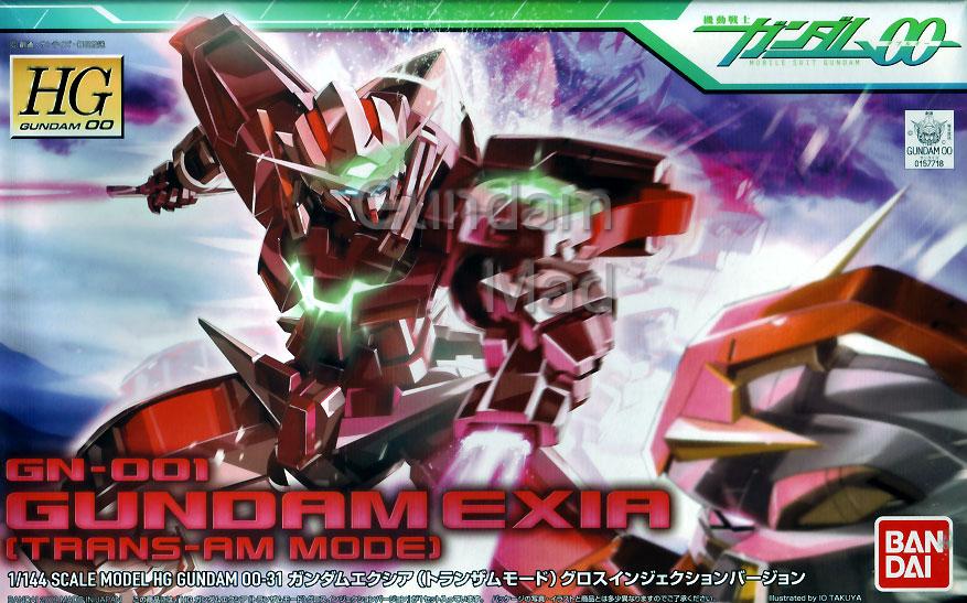 1/144 HG Gundam Exia Transam Mode