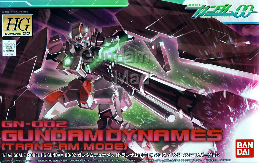 1/144 HG Gundam Dynames Trans-Am Mode