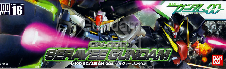 1/100 Seravee Gundam