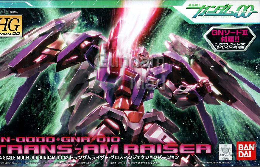 1/144 HG GN-0000+GN-010 Trans-Am Raiser