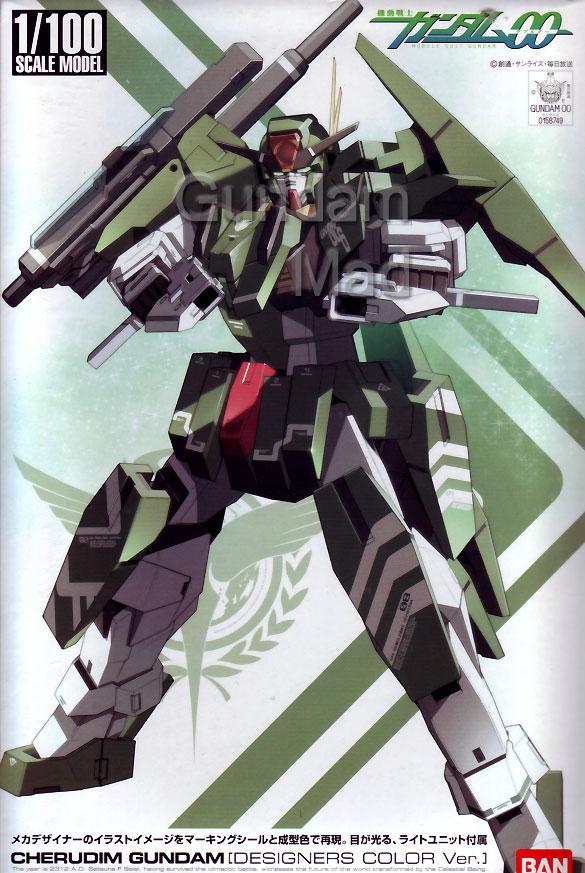 1/100 Cherudim Gundam Designer`s Colour Version