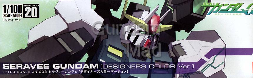 1/100 Seravee Gundam Designer`s Colour version