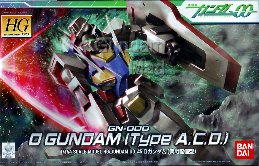 1/144 HG O Gundam (Type A.C.D)