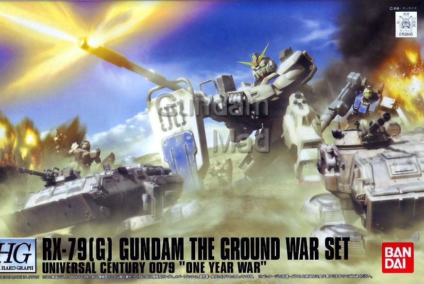 1/144 HGUC RX-79(G) Gundam Ground War Set