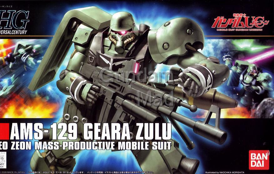 1/144 HGUC AMS-129 Geara Zulu