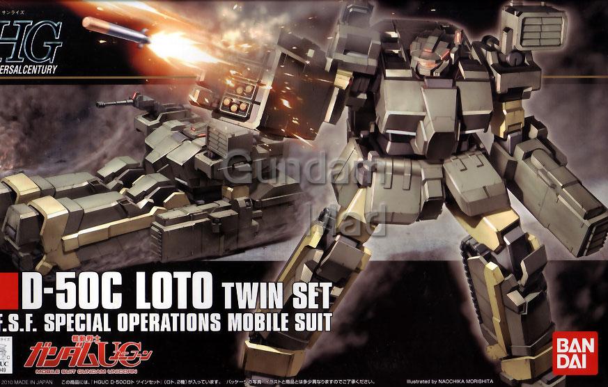 1/144 HGUC D-50C Loto Twin Set