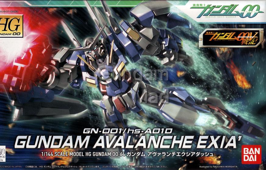 1/144 HG Avalanche Exia Dash