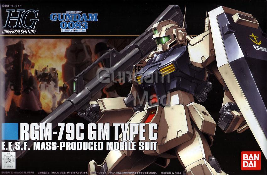 1/144 HGUC RGM-79C GM Custom