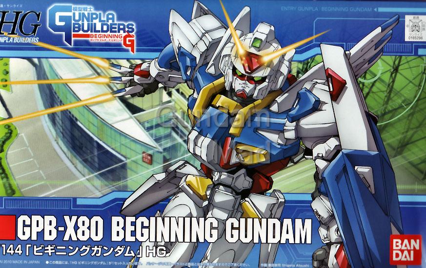 1/144 HG GPB-X80 Beginning Gundam