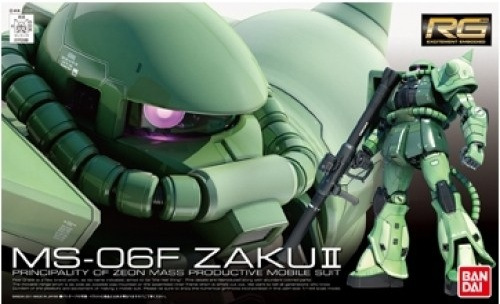 1/144 Real Grade MS-06F Zaku II