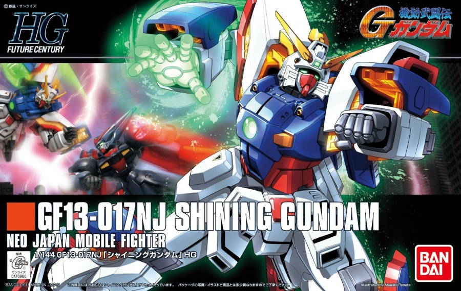 1/144 HGFC SF13-017NJ Shining Gundam