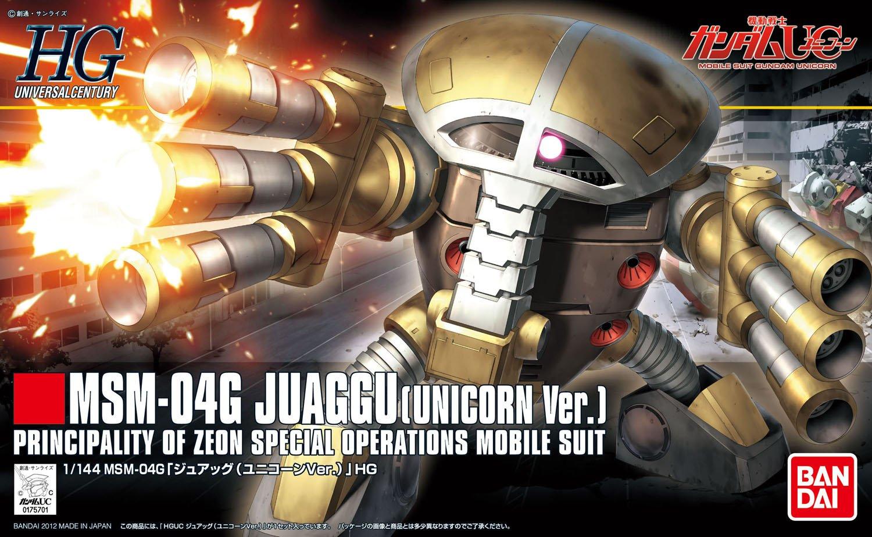 1/144 HGUC MSM-04G Juaggu (Unicorn Ver.)