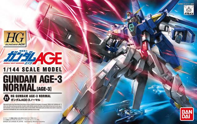 1/144 HG Gundam AGE-3 Normal